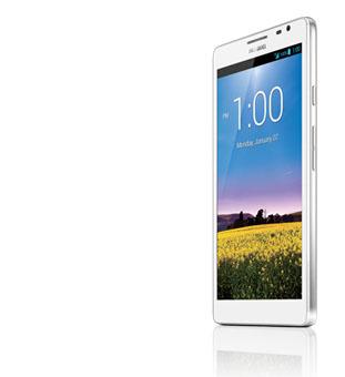 Huawei Ascend Mate screen نظرة تفصيلية لأكبر هاتف في العالم Huawei Ascend Mate : مواصفات ، مزايا ، عيوب ، أسعار