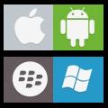 iOS, Android, Windows Phone, BlackBerry