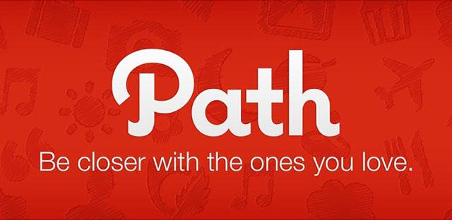 واجهة الباث شرح تطبيق شبكة التواصل الاجتماعية Path للأيفون والأيباد و الأندرويد