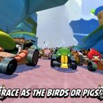 Angry Birds Go 1 150x150 إطلاق لعبة الطيور الغاضبة Angry Bird Go بحلة جديدة مع متعة سباق السيارات للأندرويد والـ ios والبلاك بيري والويندوزفون [ تحديث ]