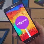 galaxy note 3 Android 5 lollipop pic