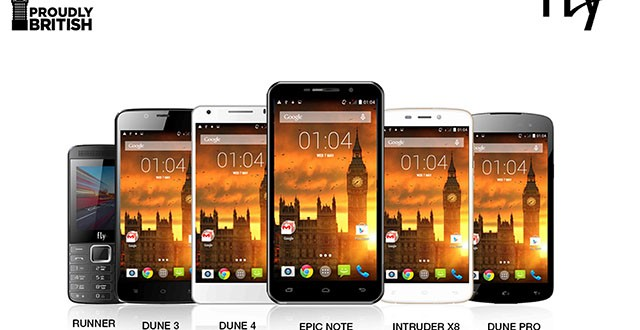 Fly - Exciting New Range of Smartphones