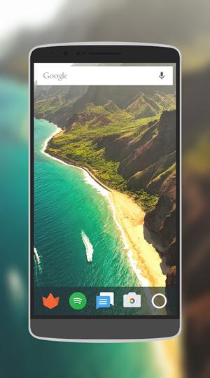 تطبيق screener لوضع صور الشاشة داخل إطار هاتف أندرويد