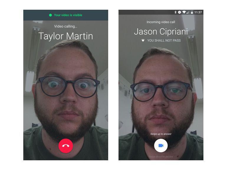 تطبيق ديو للمكالمات المرئية 3