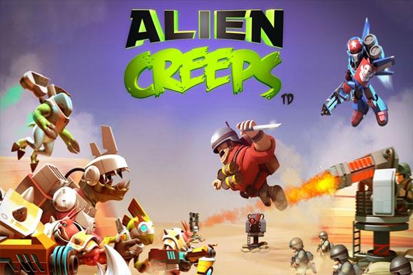 ـ لعبة الأكشن والحرب Alien Creeps TD للأيفون والأندرويد Alien-Creeps-TD.jpg