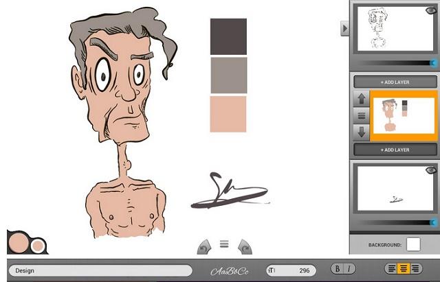 ـ تطبيق Infinite Design لتصميم رسومات فيكتور على الأندرويد Infinite-Design-app-