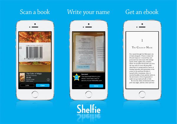 ـ تطبيق Shelfie للحصول على نسخة إلكترونية من كتابك الورقي للأندرويد Shelfie.jpg