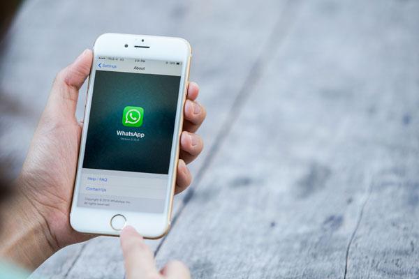 ـ سيري يمكنها الآن ارسال رسائل واتس اب لمستخدمي iOS 10 WhatsApp.jpg