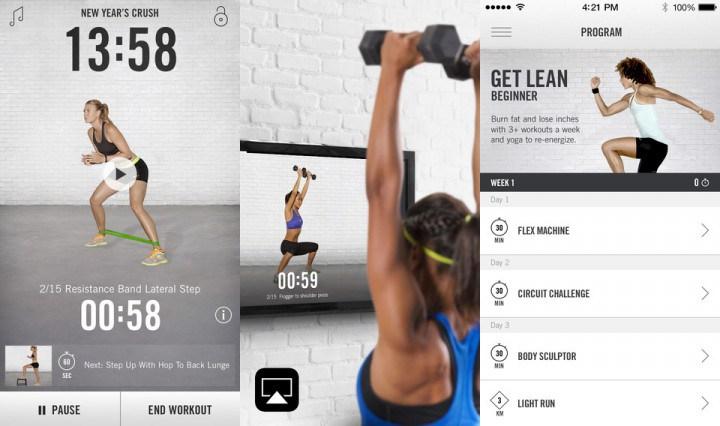 Nike Training Club - 5 تطبيقات ستساعدك على خسارة الوزن متاحة لكل الهواتف الذكية