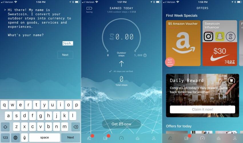 Sweatcoin - 5 تطبيقات ستساعدك على خسارة الوزن متاحة لكل الهواتف الذكية