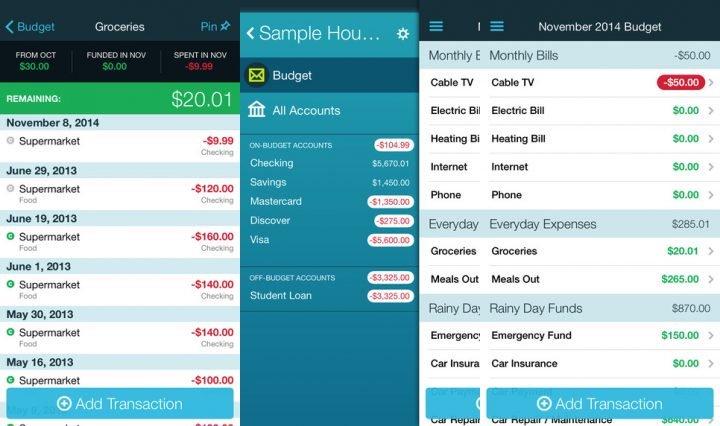 You Need a Budget - أهم 5 تطبيقات لإدارة الميزانية وتوفير النفقات للأندرويد والآيفون