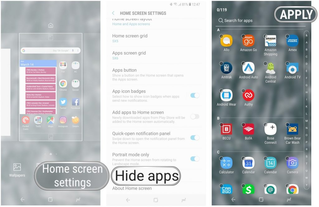 Galaxy gs9-hide-apps-steps-