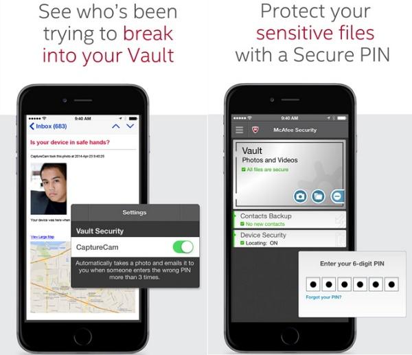 Mcafee - أفضل التطبيقات لحماية وأمن جوالك للآيفون الآيباد