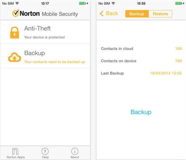 Norton - أفضل التطبيقات لحماية وأمن جوالك للآيفون الآيباد