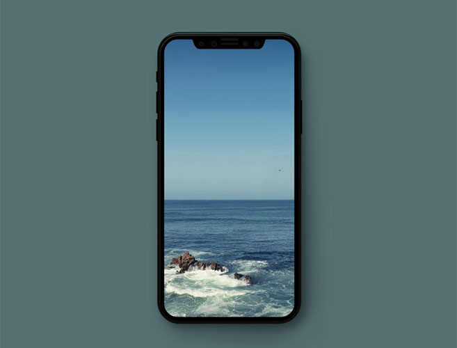 خلفيات الأسبوع للهواتف الذكية #34 ? خلفيات الطبيعة والغروب wave-wallpaper.jpg