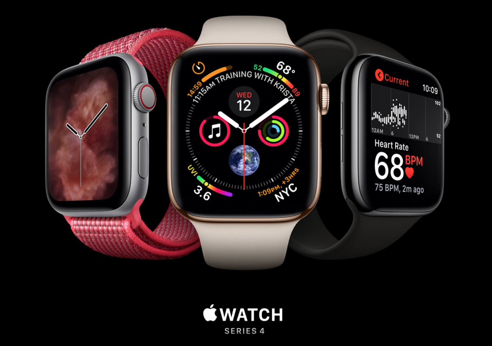 a3093730c تعرف على مميزات ومواصفات ساعة أبل الجديدة Apple Watch Series 4 ...