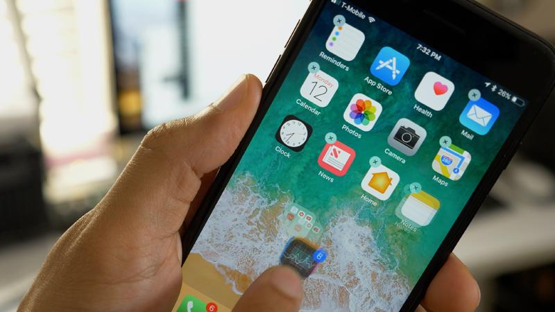 نقل وتحريك أيقونات التطبيقات في الشاشة الرئيسية على الأيفون والأيباد