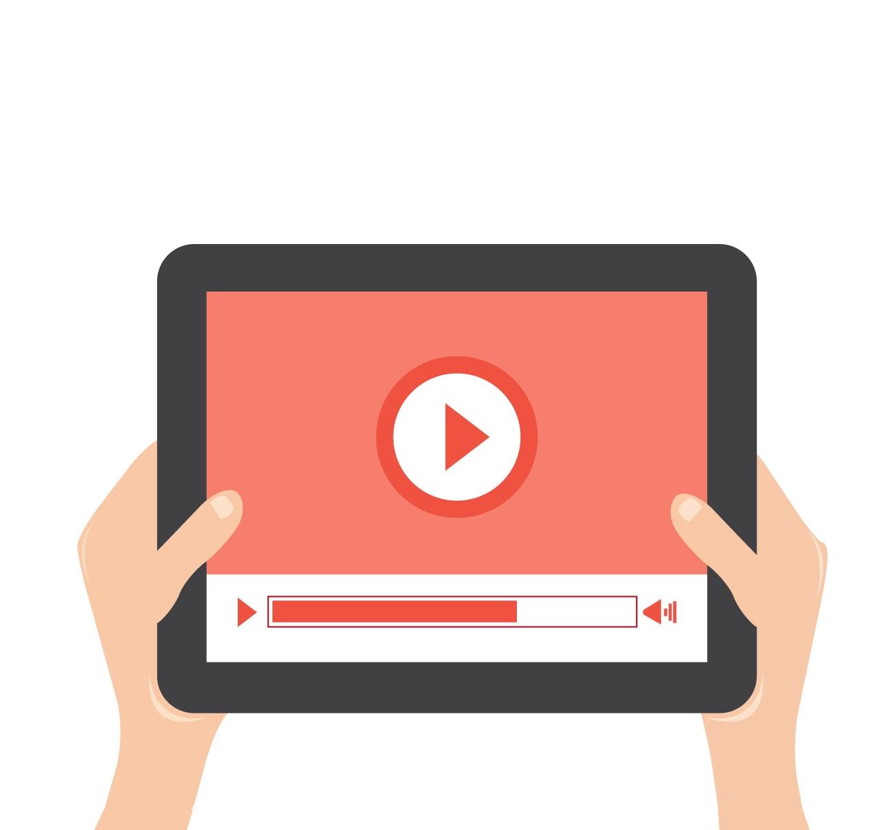 تطبيق لإنشاء الفيديوهات